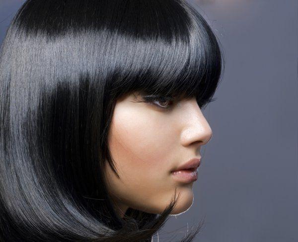 Что можно сделать с черным цветом волос