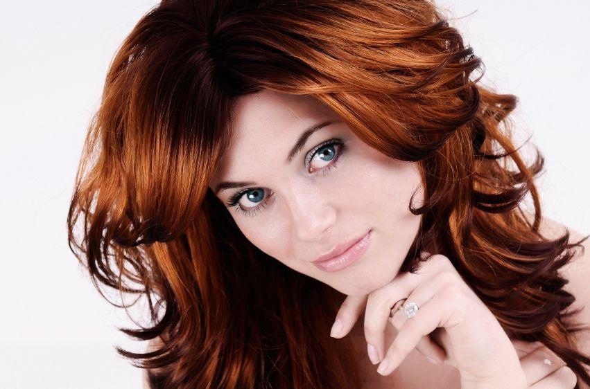 Какой краской закрасить рыжий цвет волос