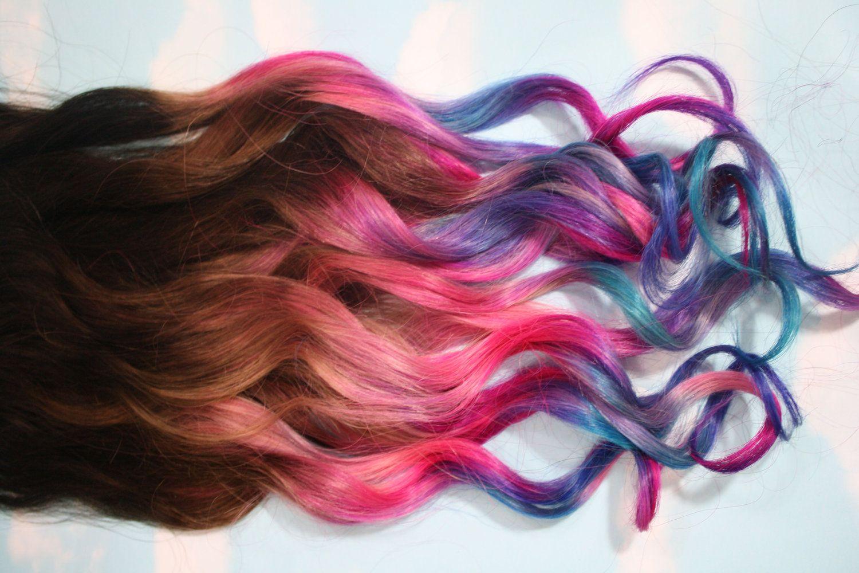 Как покрасить кончики волос тоником? Как выбрать цвет?