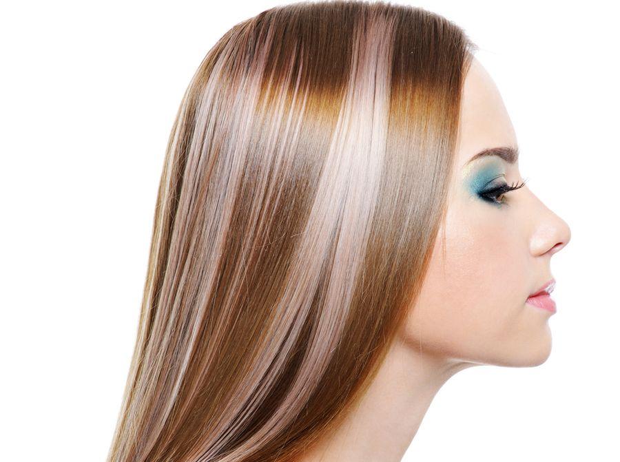 Как делают колорирование волос