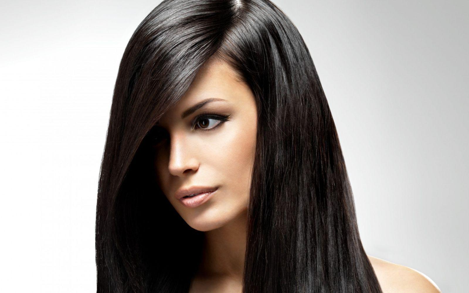 Окраска волос натуральными красками в черный цвет