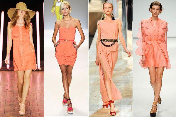 С чем носить персиковое платье? Подбираем гармоничный образ
