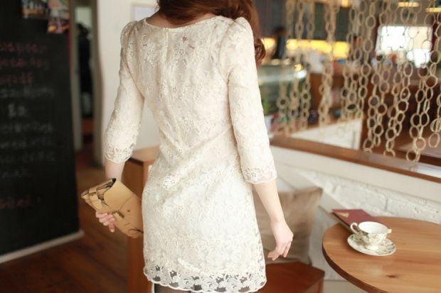 С чем носить белое кружевное платье? Создаем прекрасный образ