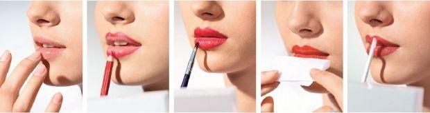 Как правильно красить губы карандашом? Правильный макияж