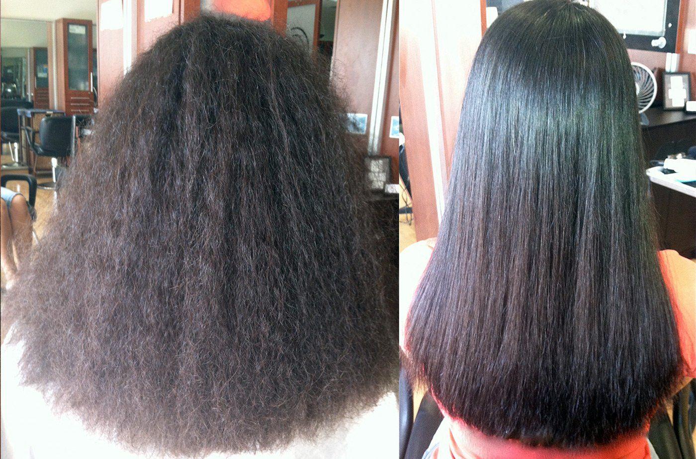 Чем сделать кератиновое восстановление волос в домашних условиях