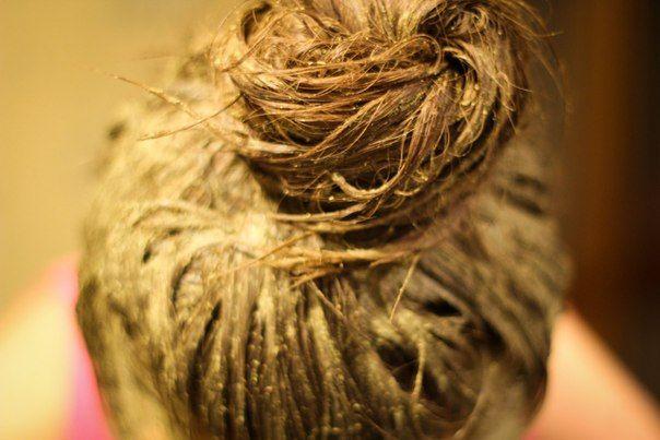 Маски для укрепления волос на чистые волосы