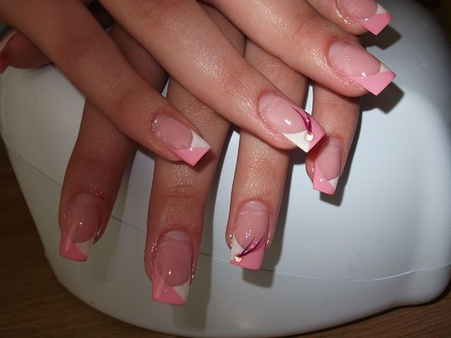 Фото рисунков на квадратные ногти