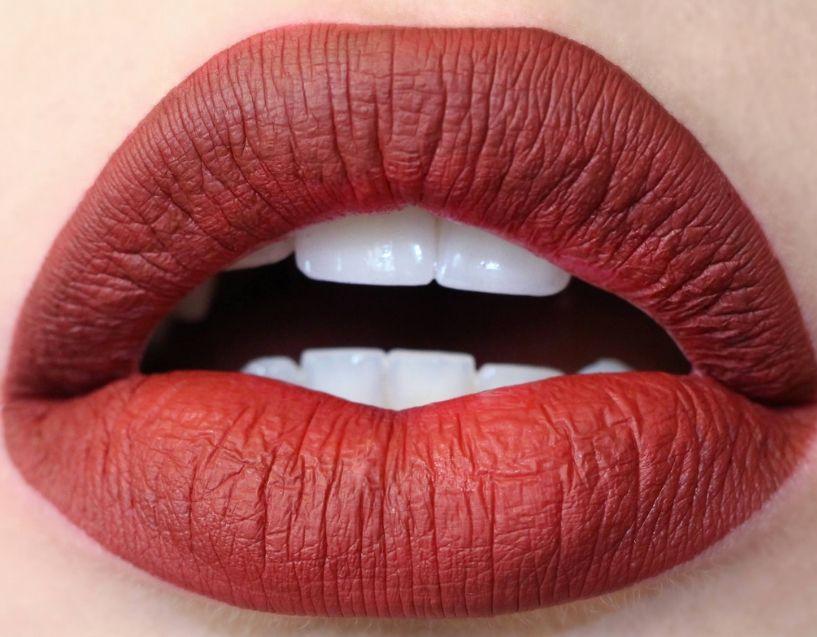 Как сделать матовые губы из обычной помады