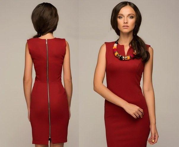 Украшение под бордовое платье 10