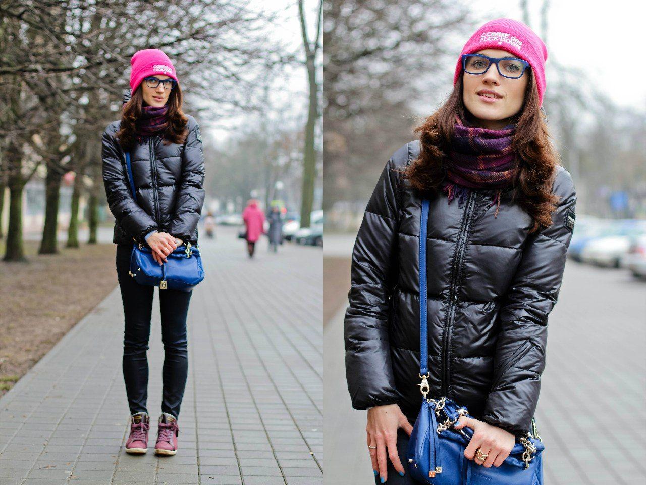 54cbab65e77 Какую сумку носить с пуховиком  Эффектный образ » EvaGirl.ru - Пульс ...