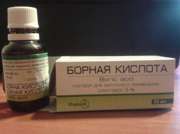Применение борной кислоты для лица. Когда хочется чистой кожи