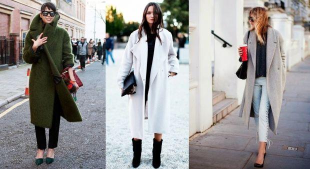 С какой обувью носить пальто оверсайз? Важные правила