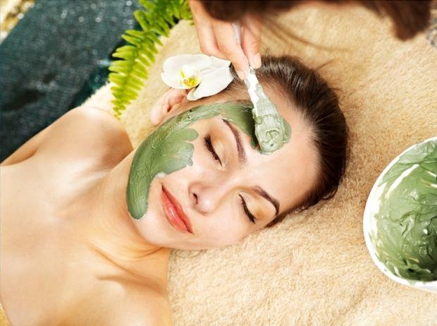 Маска из зеленой глины для лица. Натуральные преимущества