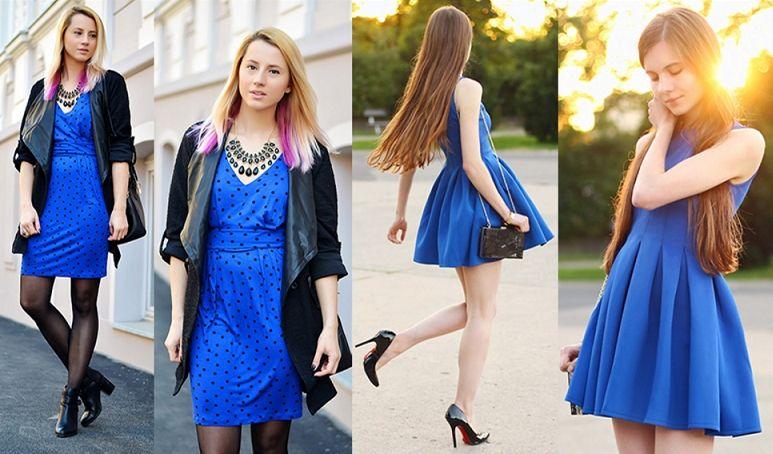 3af50e38064 Какого цвета туфли подойдут к синему платью  Стильные советы ...