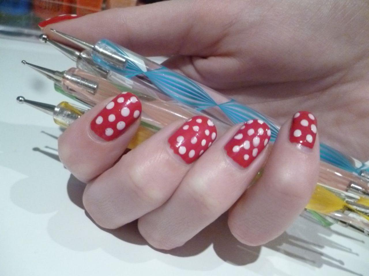Дизайн ногтей дотсом пошаговое фото