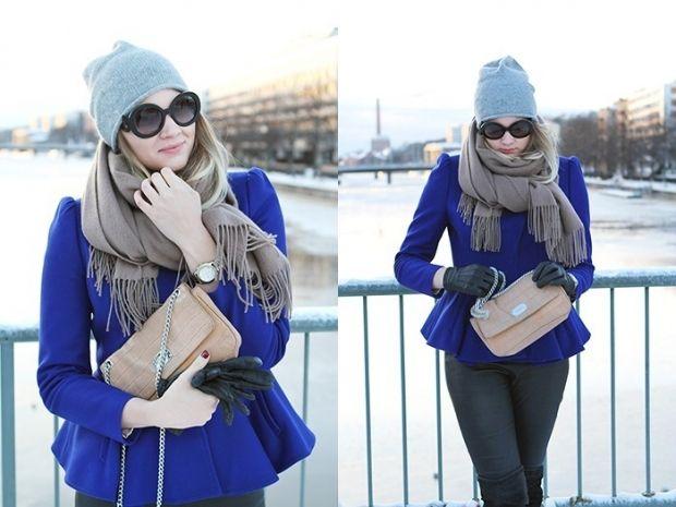 Какого цвета шарф подойдет к синему пальто? Негласные правила