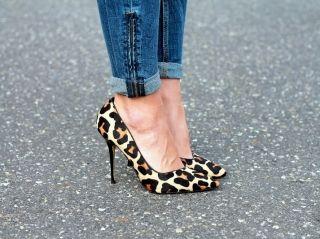 С чем носить леопардовые туфли? Когда в душе ты кошка