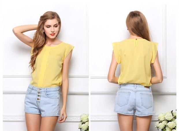 С чем носить желтую блузку? Варианты для любого случая