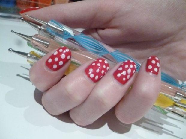 Как делать рисунки на ногтях с помощью дотса? Дела маникюрные