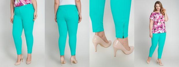 С чем носить бирюзовые брюки? Варианты на все случаи
