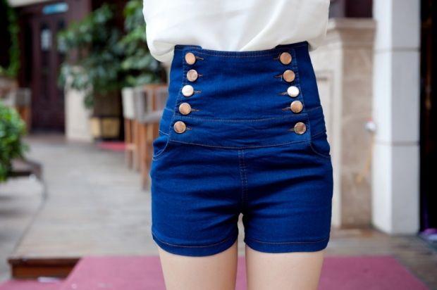 С чем носить шорты с завышенной талией? Все в деталях