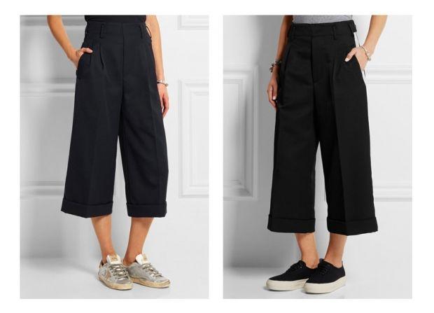 С чем носить брюки кюлоты? Для эпатажных личностей