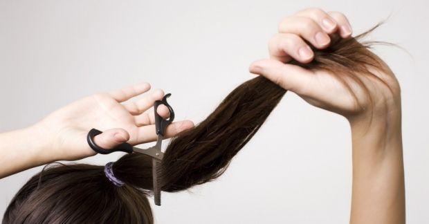 Как самой себе подстричь или подровнять кончики волос? Сама себе парикмахер