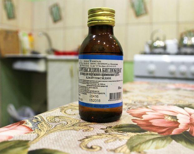 Можно ли протирать лицо хлоргексидином? Однозначное нет