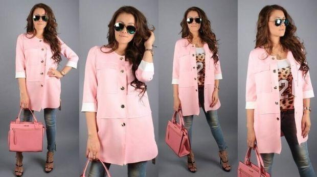 С чем носить розовое полупальто? Подбираем одежду и аксессуары