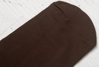 С чем носить коричневые колготки? Все зависит от материала