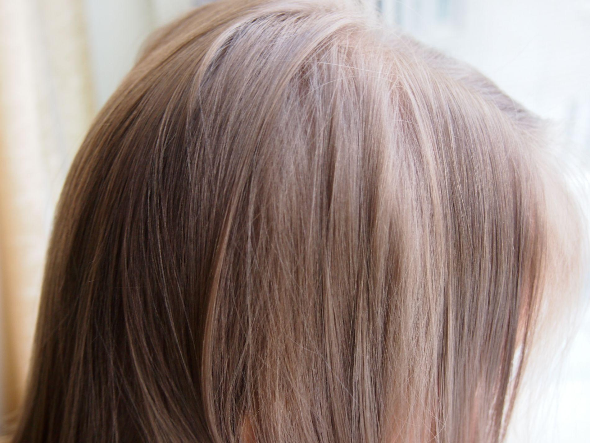 Как в домашних условиях покраситься в серый цвет волос в домашних условиях