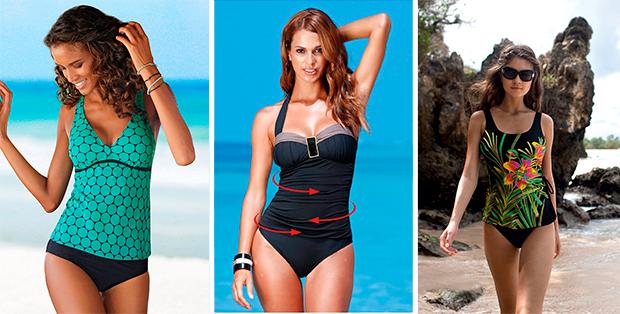 Какой купальник выбрать, чтобы скрыть живот? Наши советы