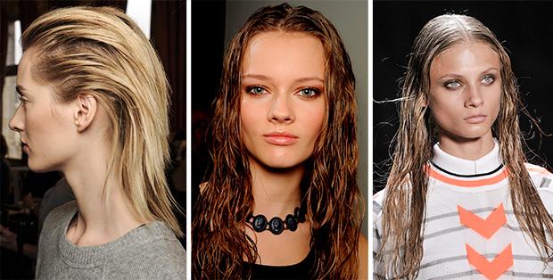 Как сделать эффект мокрых волос в домашних условиях? Время разнообразия
