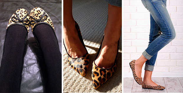 С чем носить леопардовые балетки? Ужас или мода?