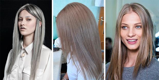 Как добиться пепельного цвета волос в домашних условиях 535