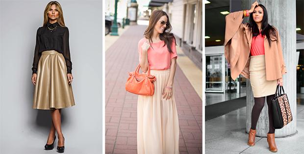 С чем носить бежевую юбку? Рекомендации от модельеров