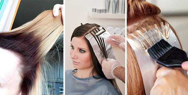 Как правильно покрасить корни волосы в домашних  417