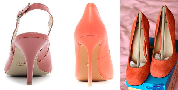 С чем носить коралловые туфли? Время быть стильной