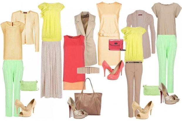 Цветотип цвета весны в одежде. Примеры и детали