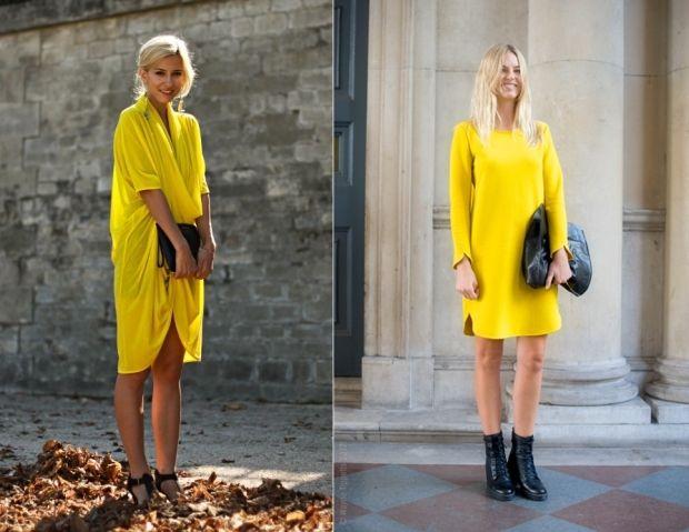 Сочетание в одежде горчичного цвета. Важные тонкости
