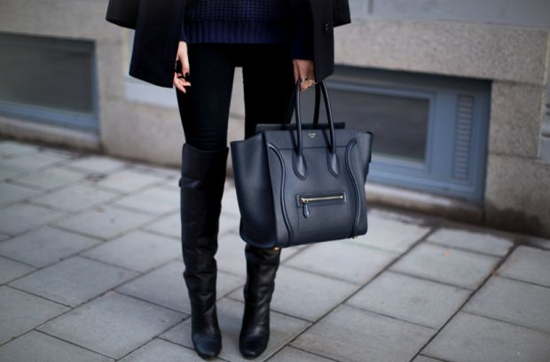 С чем носить ботфорты без каблука? Рассматриваем все варианты