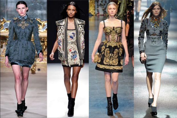 Стиль барокко в одежде. Образы настоящей классики