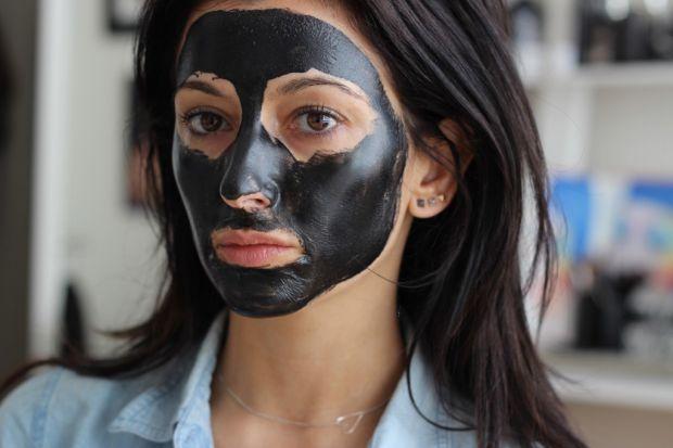 Маска из желатина и активированного угля для лица. Только натуральная польза
