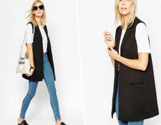 С чем носить удлиненный жилет? Идеальные комбинации