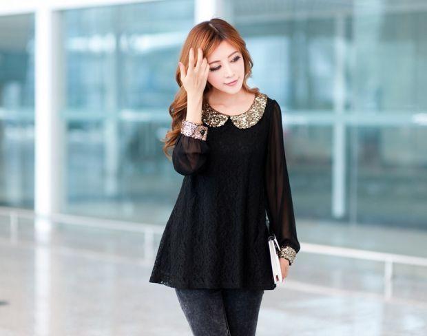 С чем носить черную блузку? Стильная классика