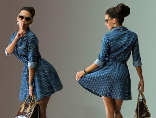 С чем носить джинсовое платье? Красиво, стильно и привлекательно