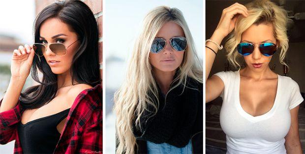 Как выбрать солнцезащитные очки по форме лица? Все должно быть к лицу