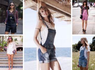 С чем носить джинсовый комбинезон? Список комбинаций