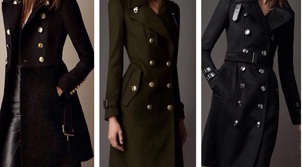 С чем носить женское пальто бушлат? Список образов