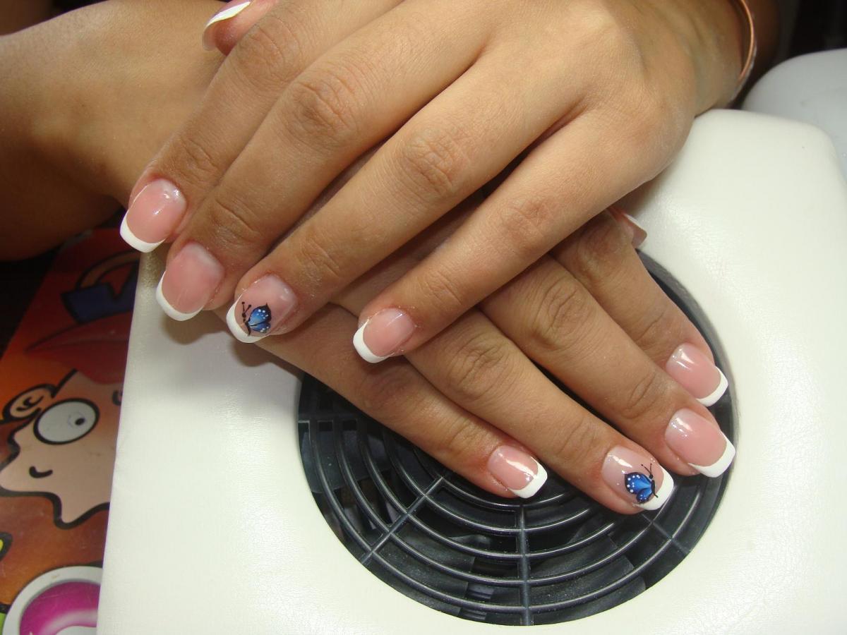 Как делать ногти одной длины